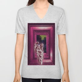 Angel of Bristol (PINK) Unisex V-Neck