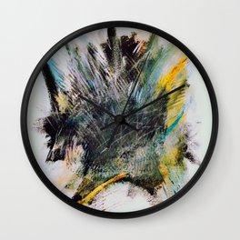 Woarrr - Paint splash Wall Clock