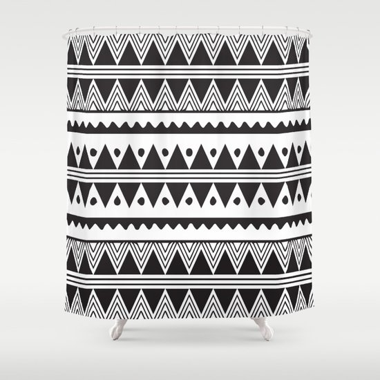 African Tribal Pattern No. 2 Shower Curtain