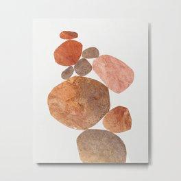 Rock Balancing #3 Metal Print