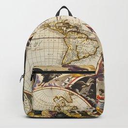 Terra Nova Vintage Maps And Drawings Backpack