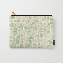 Pastel Triangles 2 Carry-All Pouch