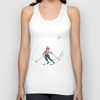 sports Tank Tops featuring Sports d'hiver by Vannina