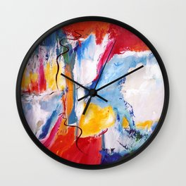 Come Down Isaiah 64 Christian Abstract Wall Clock