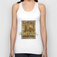 karu kara Tank Tops featuring Adventure up! by Klara Acel