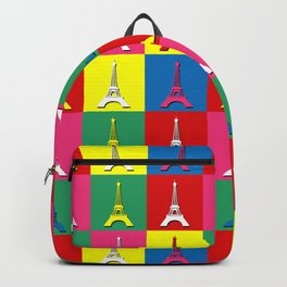 Pop art Paris Backpack