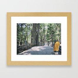 Okunoin Framed Art Print