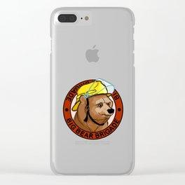 Big Bear Brigade Clear iPhone Case