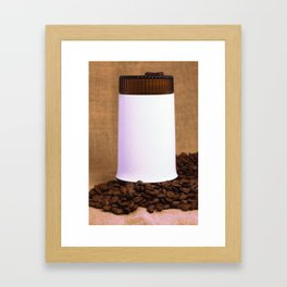 GDR coffee grinder Framed Art Print