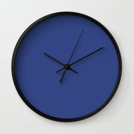 Resolution Blue Wall Clock