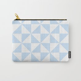 Pattens Blue Pinwheel   Beautiful Interior Design Carry-All Pouch
