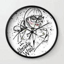 #STUKGIRL ASHLEY Wall Clock