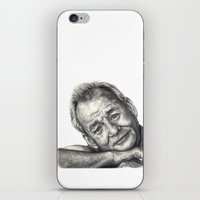 bill murray iPhone & iPod Skins featuring Bill Murray  by Rachel Morgan Kitti