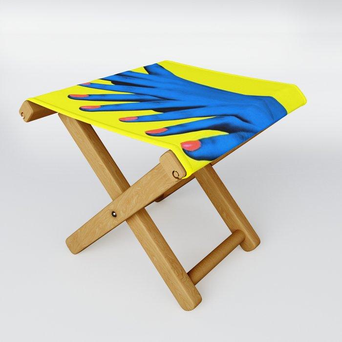 Hand Job Folding Stool by Wanker & Wanker - One Size