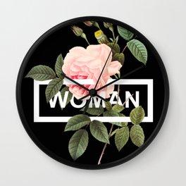 Harry Styles Woman Artwork Wall Clock