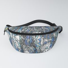 Abstract blue 2 Fanny Pack