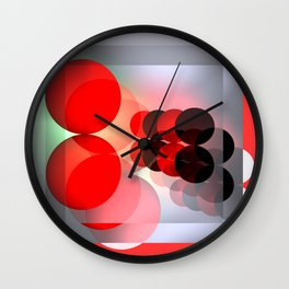 experiments with light Wall Clock