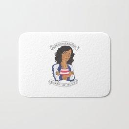 Miss America Chavez - interdimensional kicker of butt Bath Mat