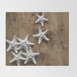 starfish 6 Throw Blanket