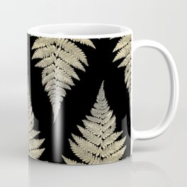 Golden Fern Art | Plant | Photography | Digital Art Coffee Mug
