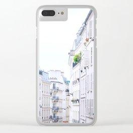 Inside Paris.Architecture Clear iPhone Case