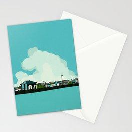 Walk along the sea Stationery Cards