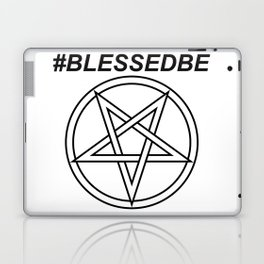 #BLESSEDBE INVERTED INVERSE Laptop & iPad Skin