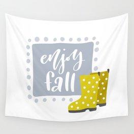 Enjoy Fall Wall Tapestry