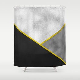 Poisoned Fracture Shower Curtain