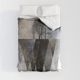 TREES over MAGIC MOUNTAINS II Comforters