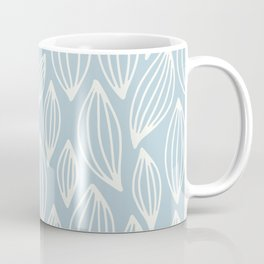 Blossom Pale Blue Coffee Mug