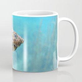 Watercolor Turtle, Loggerhead Musk Turtle 01, Rainbow Springs, Florida Coffee Mug
