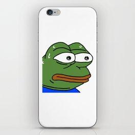MonkaS FeelsBadMan iPhone Skin