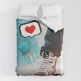sneaker Love Duvet Cover