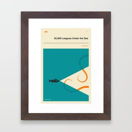 20,000 Leagues Under the Sea Framed Art Print