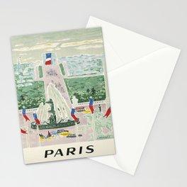 Plakat paris societe nationale des chemins Stationery Cards
