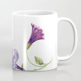 Watercolor branch of petunia. Coffee Mug
