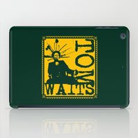 tom selleck iPad Cases featuring Tom Waits by Silvio Ledbetter