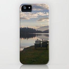 Morning Lake iPhone Case