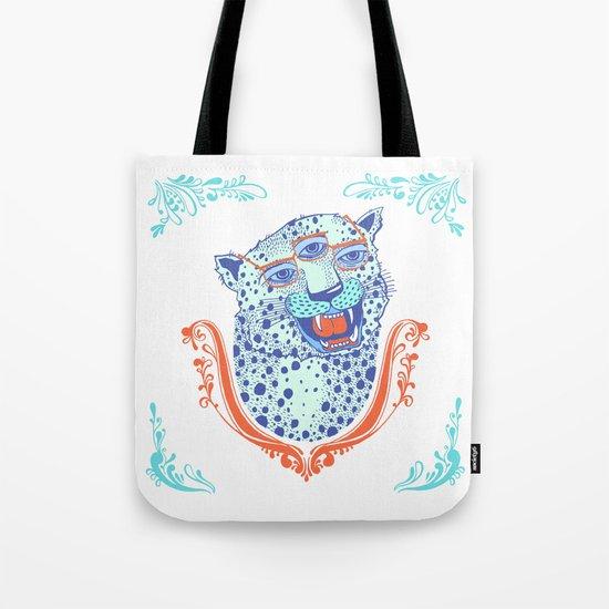 Cat Glasses Tote Bag