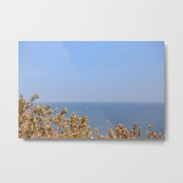 Sailing in the Cote d'Azur Metal Print