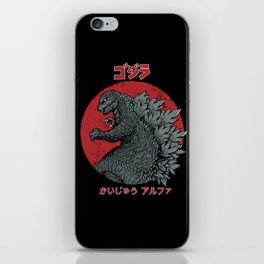 Gojira Kaiju Alpha iPhone Skin