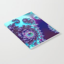 Jewel Tone Fractal Notebook
