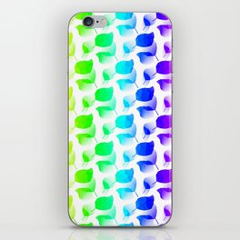 Columns Of Color iPhone Skin