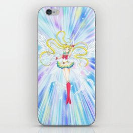 super sailor moon manga ver. iPhone Skin