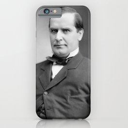 William McKinley Photo Portrait iPhone Case