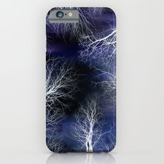 Abstract Midnight Trees iPhone 6s Slim Case