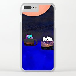 Love animal 263 Clear iPhone Case