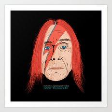 Iggy Stardust Art Print