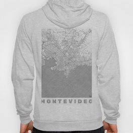 Montevideo Map Line Hoody